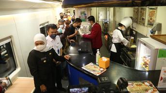 Wi Fi dan Live Cooking Kini Ada di Kereta Surabaya