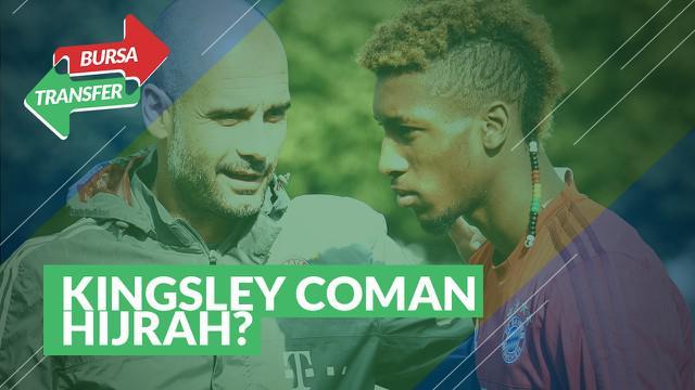 Berita Video tentang rumor kepindahan Kingsley Coman ke Manchester City
