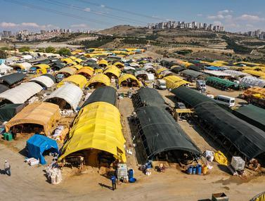 Melihat Pasar Darurat Penjual Hewan Kurban di Turki