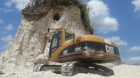Piramida di Belize dihancurkan untuk pembangunan jalan ( Jules Vasquez/7 News Belize)