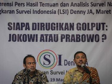 Pemilu 2019, Jokowi dan Prabowo Dirugikan Karena Golput