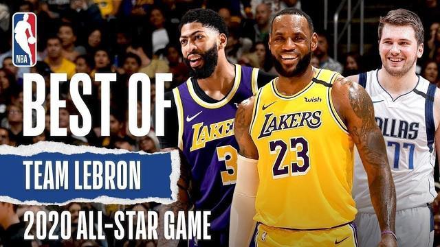 Berita Video Cuplikan Aksi Terbaik Tim LeBron Jelang NBA All Star 2020