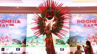 Pameran busana khas Indonesia dalam Festival Hari Indonesia di Istanbul, Turki (8/9) (sumber: KJRI Istanbul)