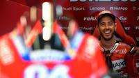 Pembalap Ducati, Andrea Dovizioso.  (AFP/Gabriel Bouys)