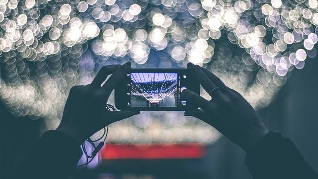 Ilustrasi kamera ponsel