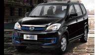 Beijing Qingxing Jingke 400, mobil listrik dengan desain mirip Toyota Avanza. (Carnewschina)