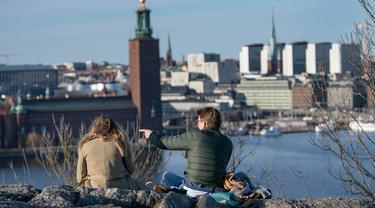 Hidup Tanpa Lockdown Corona di Swedia