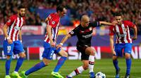 Atletico Madrid Vs Bayer Leverkusen (AP Photo/Daniel Ochoa de Olza)