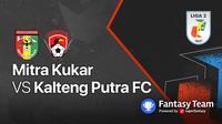 Liga 2 : Mitra Kukar vs Kalteng Putra
