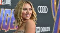 Scarlett Johansson saat hadir di world premiere Avengers: Endgame di Los Angeles, Amerika. (Amy Sussman / GETTY IMAGES NORTH AMERICA / AFP)