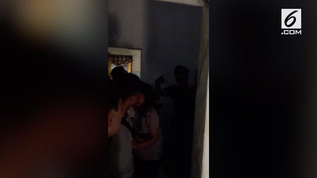 Rekaman pelaku pengeroyokan anggota TNI ditangkap.