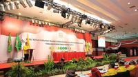 Wali Kota Tarakan, dr. H. Khairul, M.Kes. di Raker  APEKSI Regional Kalimantan.