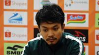 Mohammad Hidayat minta maaf kepada para suporter Persebaya yang gagal meraih poin penuh dari kandang PSS Sleman di pekan kedelapan.