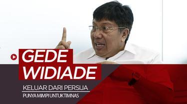 Berita video setelah keluar dari Persija, Gede Widiade masih punya mimpi untuk Timnas Indonesia.