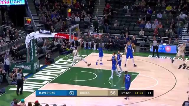 Berita Video aksi terbaik Giannis Antetokounmpo saat Dallas Mavericks kalahkan Milwaukee Bucks 120-116