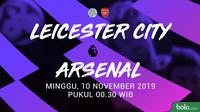 Premier League - Leicester City Vs Arsenal (Bola.com/adreanus Titus)