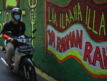 Mural Bernuansa Islam Warnai Gang di Kalibata