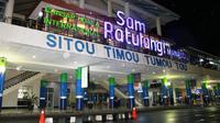 Rapid test itu dilakukan juga untuk para penumpang menggunakan maskapai Batik Air rute Jakarta – Manado dan tiba di Bandara Sam Ratulangi Manado, Jumat (22/5/2020).