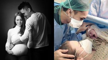 Melahirkan Anak Pertama, Ini 6 Potret Perjalanan Kehamilan Istri Randy Pangalila