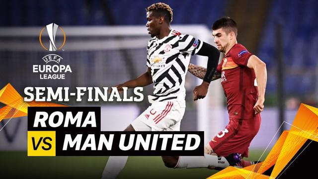 Berita video momen-momen penting yang terjadi pada leg II semifinal Liga Europa 2020/2021 antara AS Roma melawan Manchester United yang berakhir dengan skor 3-2, Jumat (7/5/2021) dinihari WIB.