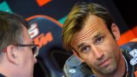 Pembalap KTM, Johann Zarco. (AFP/Jean-Francois Monier)