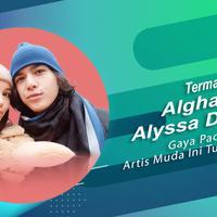 Al Ghazali-Alyssa Daguise dan deretan artis muda yang gaya pacarannya tuai kontroversi. (Foto: Instagram/alghazali7 Desain: Nurman Abdul Hakim/Bintang.com)