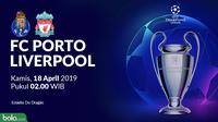 Liga Champions - FC Porto Vs Liverpool (Bola.com/Adreanus Titus)