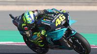Valentino Rossi baru sekali masuk zona poin di empat seri MotoGP yang sudah digelar (AFP)