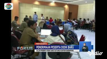 Pada hari kedua PPDB 2019, calon peserta di Yogyakarta keluhkan sulitnya memasukkan token pendaftaran.