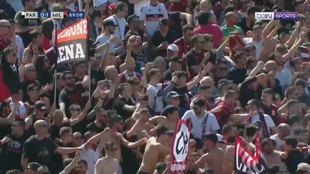 Berita video gol free kick indah bek Bruno Alves membuat Parma berhasil menahan imbang AC Milan 1-1 dalam lanjutan Serie A 2018-2019 di Ennio Tardini, Sabtu (20/4/2019).