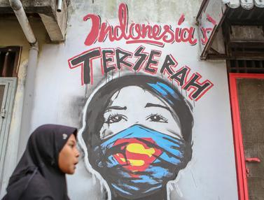 Sindiran Indonesia Terserah Melalui Mural