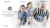 Calcio Legend vs Primavera Baretti (Liputan6.com/Abdillah)