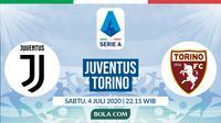 Serie A: Juventus vs Torino. (Bola.com/Dody Iryawan)