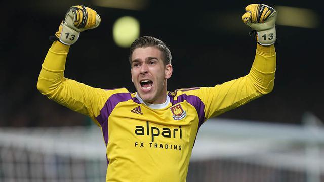 Kiper West Ham, Adrian
