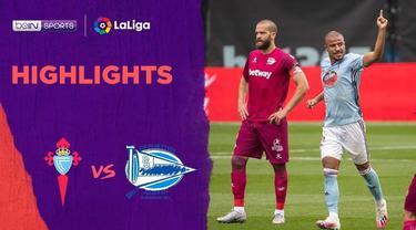 Berita video highlights pertandingan dengan setengah lusin gol saat new normal di La Liga 2019-2020 antara Celta Vigo melawan Deportivo Alaves, Minggu (21/6/2020) malam hari WIB.
