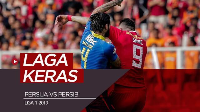 Berita video momen-momen yang menunjukkan kerasnya pertandingan Persija Jakarta melawwan Persib Bandung dalam lanjutan Shopee Liga 1 2019 di SUGBK (Stadion Utama Gelora Bung Karno), Senayan, Rabu (10/7/2019).