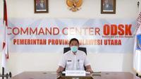 Juru Bicara Satgas Covid-19 Provinsi Sulut dr Steaven Dandel.