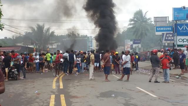 Image result for kerusuhan di Manokwari