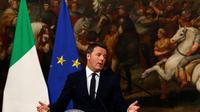 Kalah Telak dalam Referendum Italia, PM Matteo Renzi Mundur (Reuters)