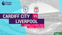 Premier League - Cardiff City Vs Liverpool (Bola.com/Adreanus Titus)