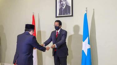 Hubungan bilateral Indonesia - Somalia telah terjalin sejak pembukaan hubungan diplomatik pertama kali pada tahun 1960 (Dubes Mohamad Hery Saripudin)
