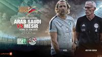 Arab Saudi vs Mesir (Liputan6.com/Abdillah)