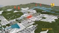Juara Harapan 1 Desain ibu kota baru. Dok Kementerian PUPR