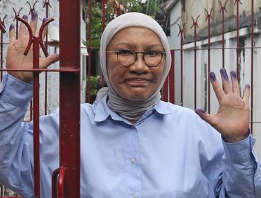 Ekspresi Ratna Sarumpaet Setelah Bebas dari Penjara