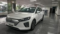 Harga Mobil Listrik Hyundai Ioniq Tembus Rp569 Juta (Arief A/Liputan6.com)