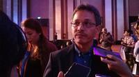 Muhammad Taufik Syahbuddin selaku Country Manager HMD Global Indonesia. (Liputan6.com/ Linda Fahira Putri)