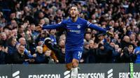 5. Eden Hazard (Chelsea) - 12 gol dan 10 assist (AFP/Ian Kington)