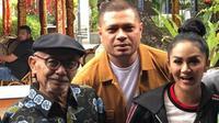 Potret kenangan Yuni Shara, Krisdayanti, dan Sang Ayah. (Instagram/@raullemos06)