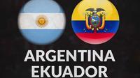 Kualifikasi Piala Dunia - Argentina Vs Ekuador (Bola.com/Adreanus Titus)