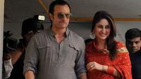 Saif Ali Khan dan Kareena Kapoor [abc.net.au]